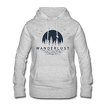 Women's Hoodie - light heather grey