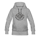 Women's Premium Hoodie - heather grey
