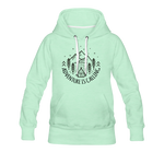 Women's Premium Hoodie - light mint