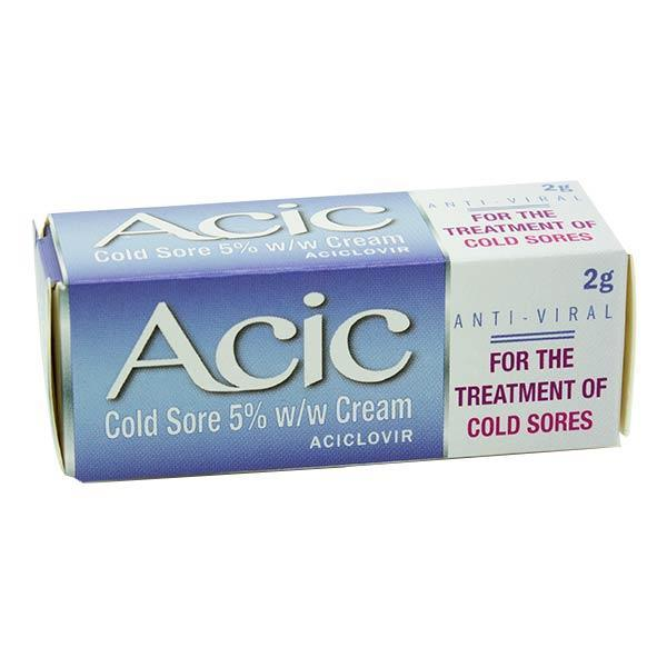Acic Cold Sore 5% Cream  2g