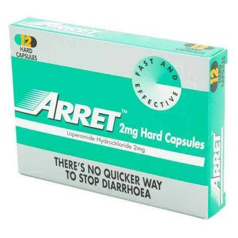 Arret 2mg Tablets  12 Pack