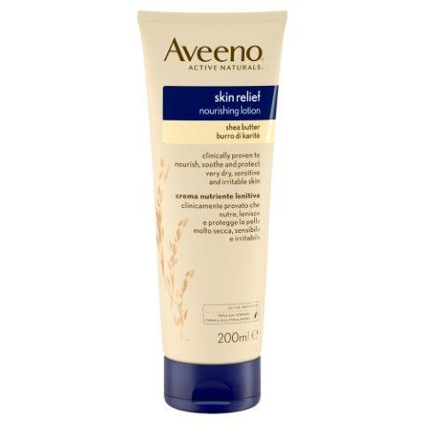 Aveeno Skin Relief Lotion and Shea Butter  200ml