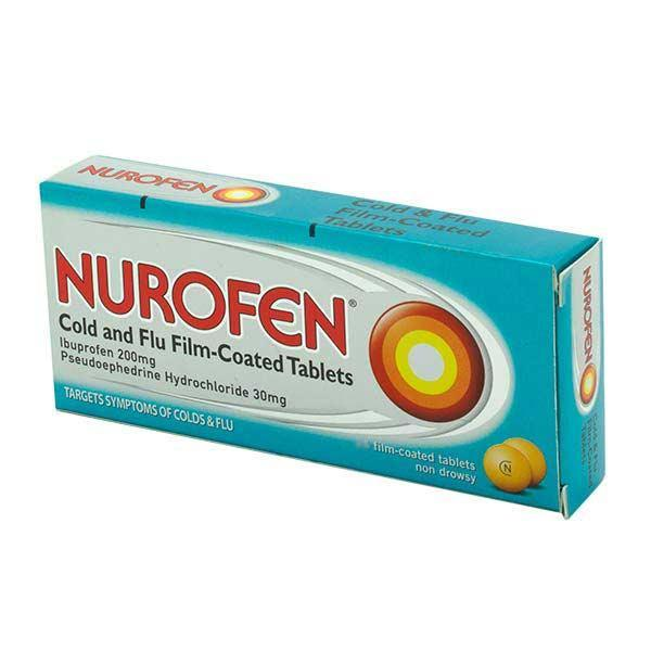 Nurofen Cold and Flu Tablets  12 Pack