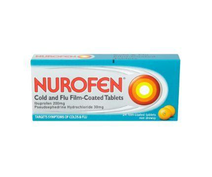 Nurofen Cold and Flu Tablets  24 Pack