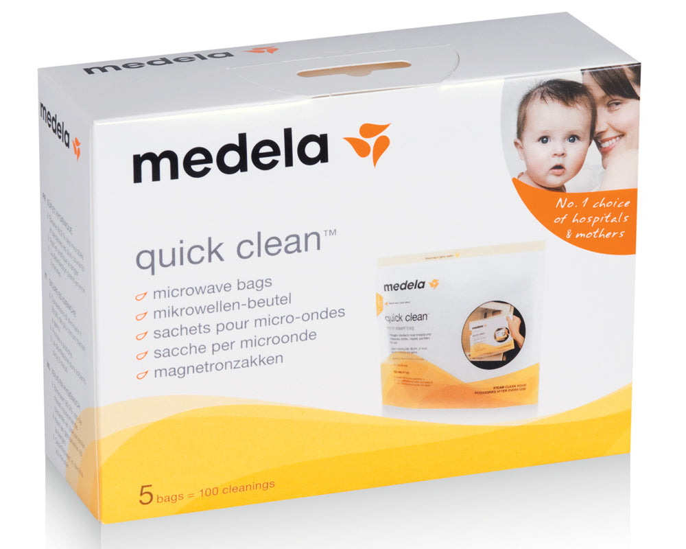 Medela Quick Clean (TM) Microwave Bags (5 pack)