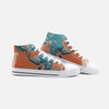 Lia High Top Canvas Sneakers