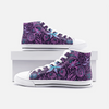 PurplePink High Top Canvas Sneakers