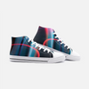 Psycadelic High Top Canvas Sneakers