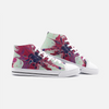 Didas High Top Canvas Sneakers