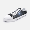 Abstract 3D Low Top Canvas Sneakers