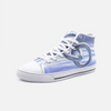 Rings 3D High Top Canvas Sneakers