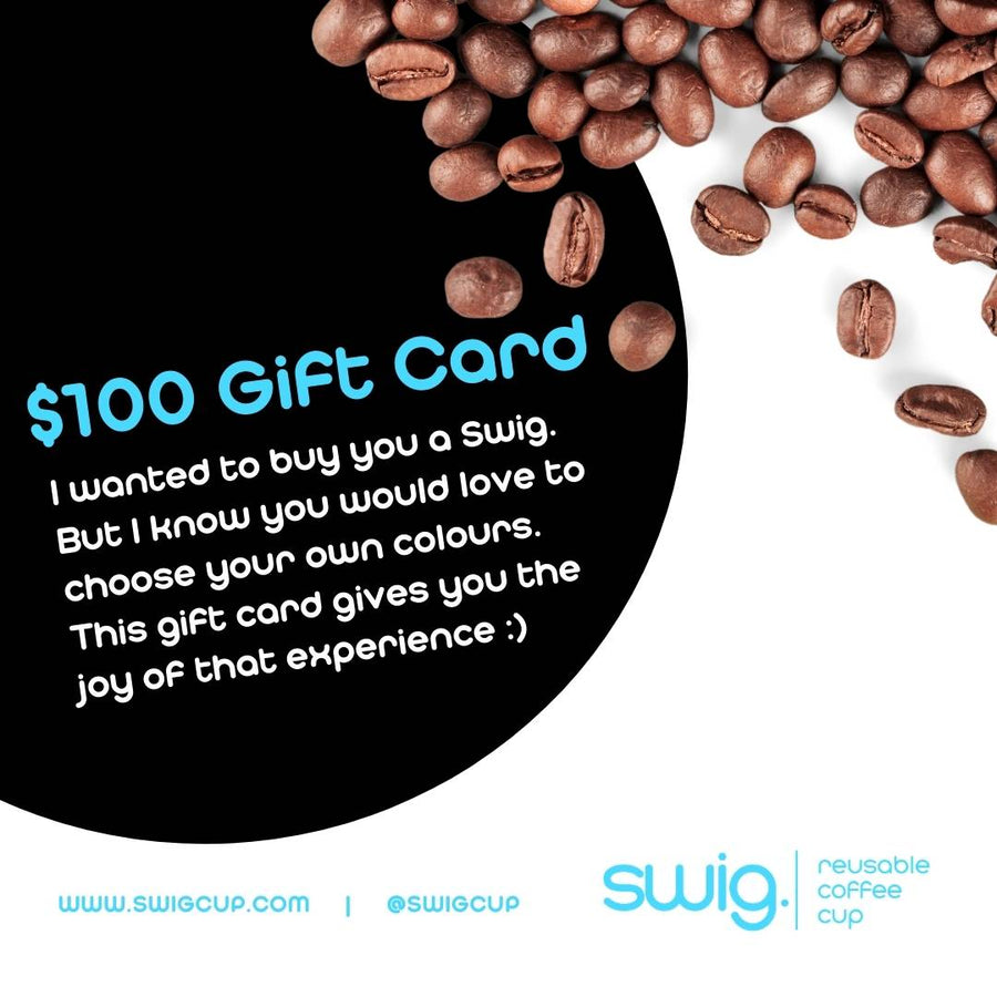 Swig. Reusable Cup Gift Card