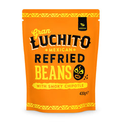 Gran Luchito Chipotle Refried Beans 430g