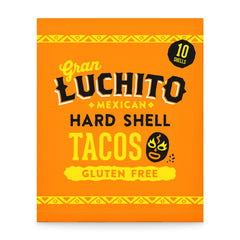 Gran Luchito Hard Shell Tacos 170g