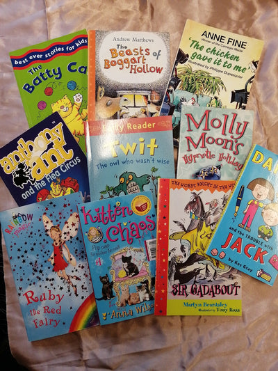 childrens early readers book pack