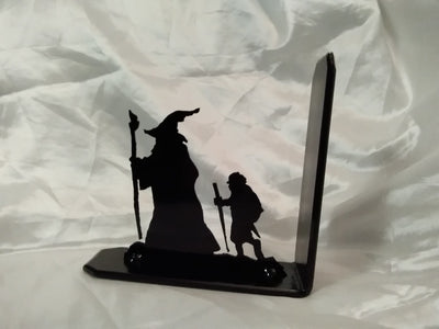 Lord of the Rings Bookend Gandalf and Frodo - Old Curiosity Bookshop