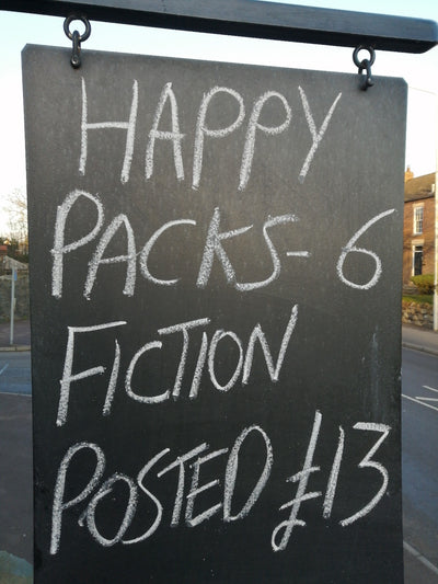 Happy Pack 6 x Fiction Paperbacks - Old Curiosity Bookshop