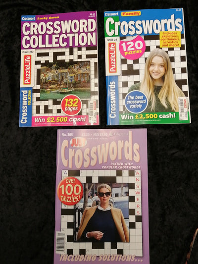 Crossword Puzzles Book Pack