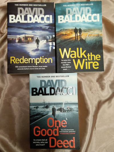Baldacci Crime Thrillers Book Pack - Old Curiosity Bookshop