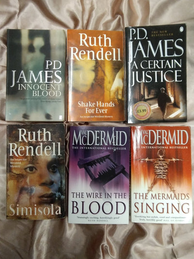British Crime Detective Book Pack - Old Curiosity Bookshop