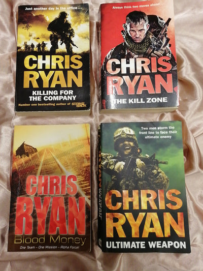 Chris Ryan SAS Action Book Pack - Old Curiosity Bookshop