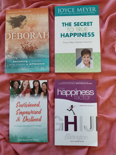 Christian HAppiness for Women Book Pack
