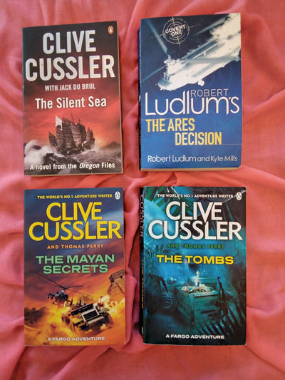 Clive Cussler Adventure Thrillers Book Pack
