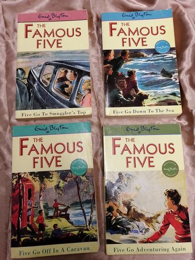 Famous Five Enid Blyton Book Pack - Old Curiosity Bookshop