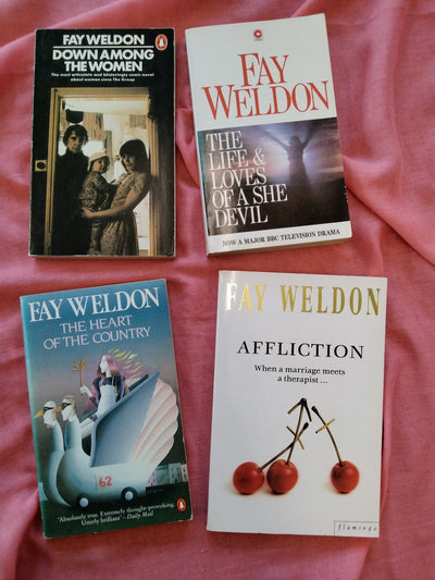 Fay Weldon Vintage Book Pack
