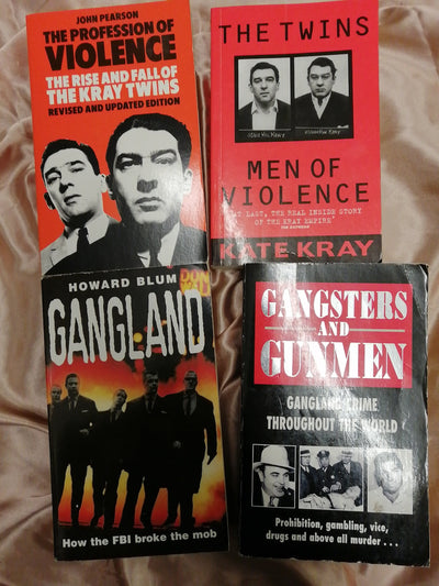 Gangs and Gangsters Book Pack - Old Curiosity Bookshop