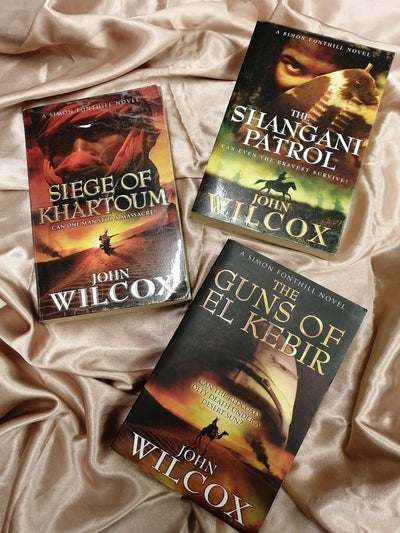 Historical Fiction John Wilcox Book Pack - Old Curiosity Bookshop
