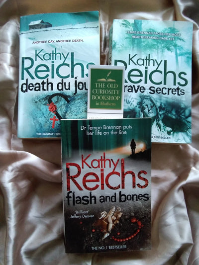 Forensic Crime Kathy Reichs Book Pack - Old Curiosity Bookshop