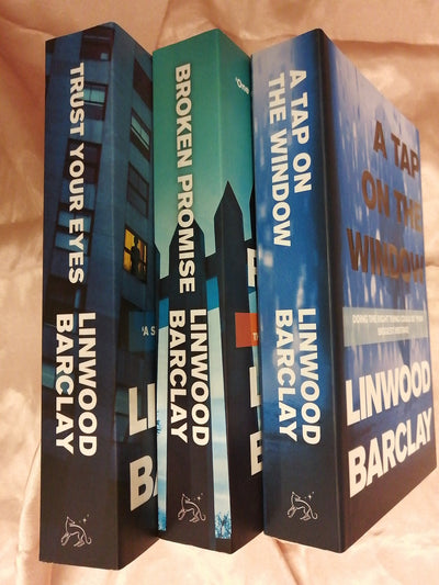 Linwood Barclay Crime Book Pack - Old Curiosity Bookshop