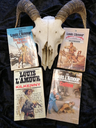 Westerns Cowboys Louis Lamour Books