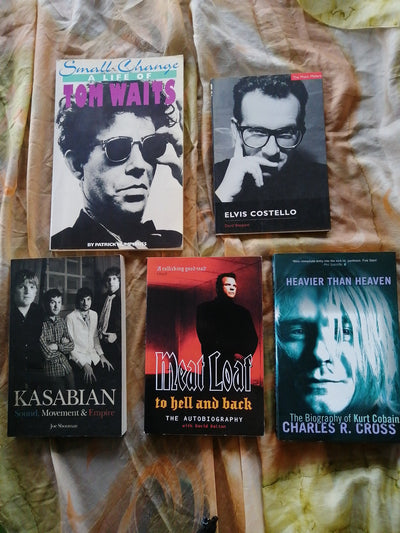Rock and Pop Biographies Book PAck
