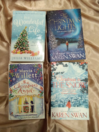 merry christmas chicklit book pack covers
