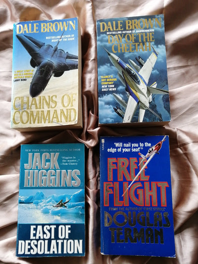 Military Aircraft Fiction Book Pack