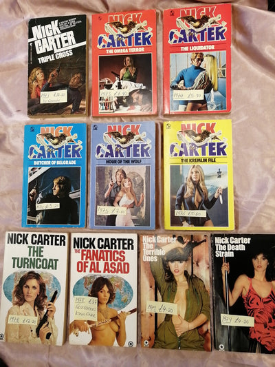 Nick Carter Killmaster Spy Chillers