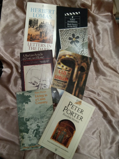 Oxford Poets Book Pack Covers