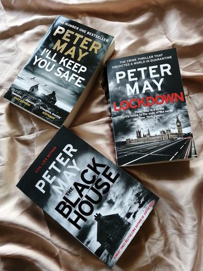 Peter May Crime Thrillers New
