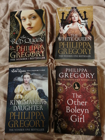 Philippa Gregory Queens Book Pack - Old Curiosity Bookshop