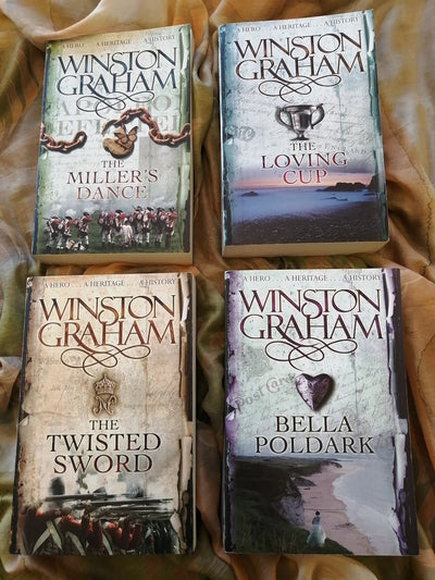 Poldark Winston Graham Book PAck