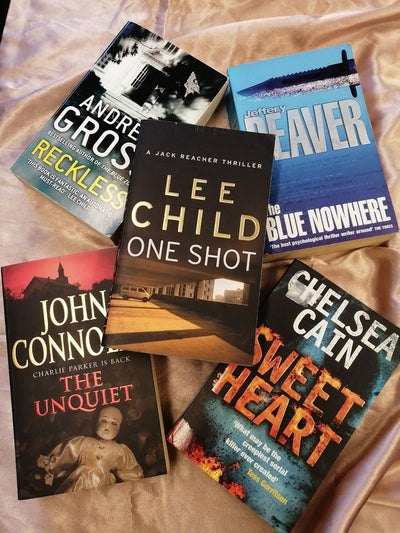 USA Crime Writers Book Pack - Old Curiosity Bookshop