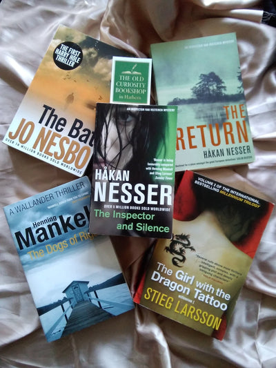 Scandi Noir Crime Book Pack - Old Curiosity Bookshop