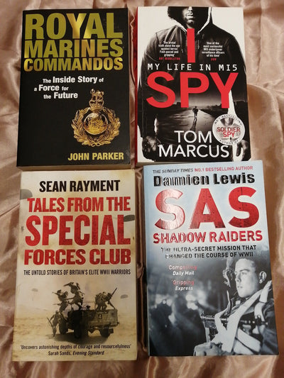 Special Forces  Book Pack - Old Curiosity Bookshop
