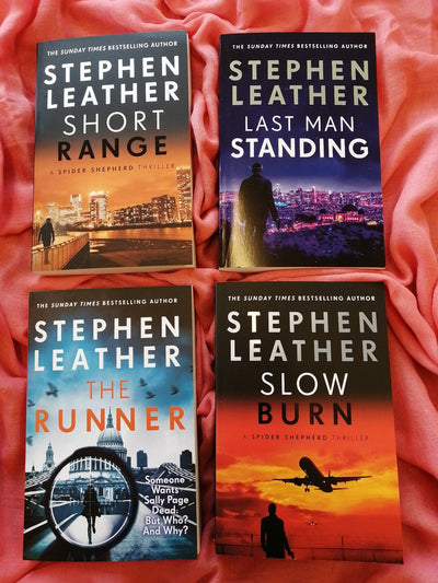 Stephen Leather Spy Thrillers