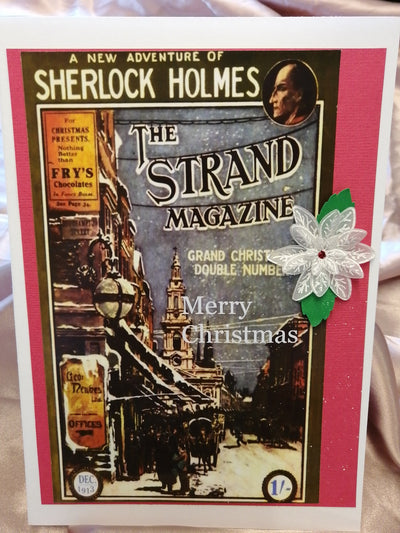 Strand Magazine Christmas Card