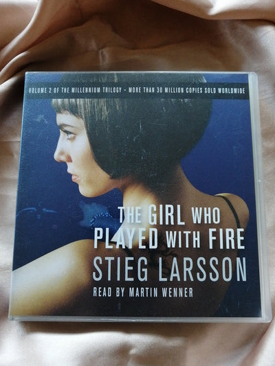 Talking Books Stieg Larsson
