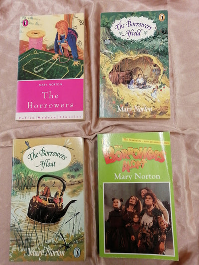Borrowers Mary Norton Book Pack - Old Curiosity Bookshop