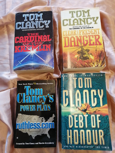 Tom Clancy Thrillers Book Pack - Old Curiosity Bookshop